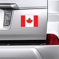 Canada Flag Magnet on a Car Bumper example