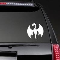 Cool Dragon Sticker on a Rear Car Window example