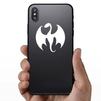 Cool Dragon Sticker on a Phone example