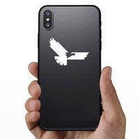 Cool Eagle Sticker on a Phone example