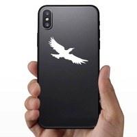 Cool Seagull Sticker on a Phone example