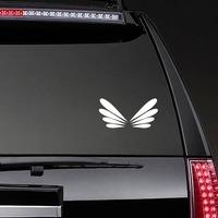 Drangonfly Wings Sticker on a Rear Car Window example