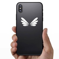 Drangonfly Wings Sticker on a Phone example
