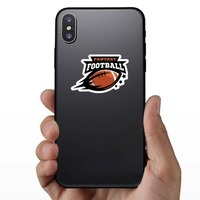 Fantasy Football Sticker on a Phone example
