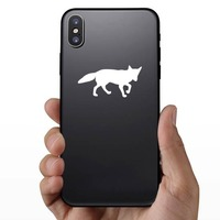 Fox  Walking Sticker on a Phone example