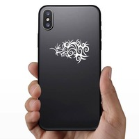 Gothic Design Sticker on a Phone example