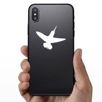 Hummingbird Sticker on a Phone example