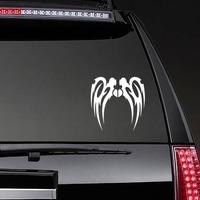 Long Tribal Wings Design Sticker on a Rear Car Window example