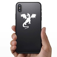 Malicious Dragon Sticker on a Phone example