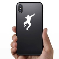 Man Throwing the Shot Put Sticker on a Phone example