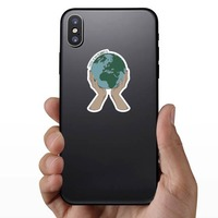 No Planet B Sticker on a Phone example