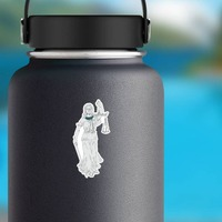 RBG Blind Justice Sticker on a Water Bottle example
