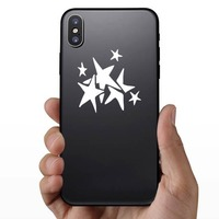Seven Stars Cluster Sticker on a Phone example