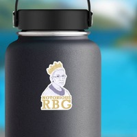 The Notorious RBG Sticker on a Water Bottle example