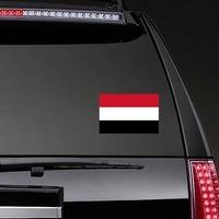 /'/'SIZES/'/' Yemen World Flag Blot Car Bumper Sticker Decal