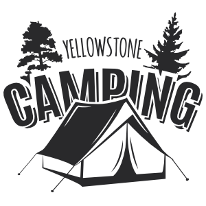 Yellowstone Camping Sticker