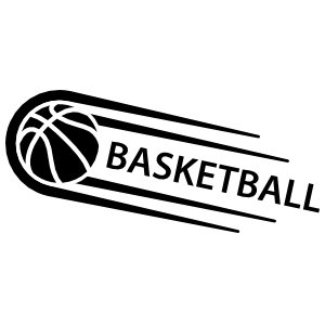 One Color Sweet Basketball Sticker