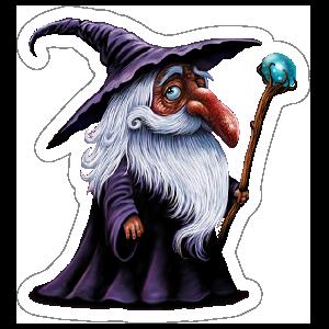 Purple Robed Wizard