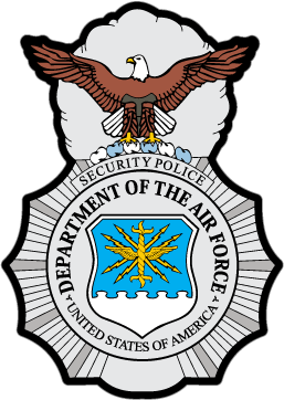 Air Force Security Forces Badge Sticker