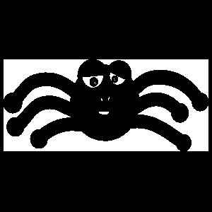 Loopy Spider Sticker