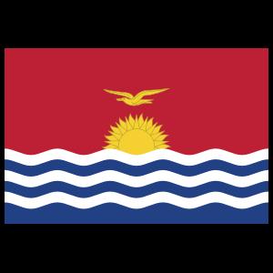 Kiribati Country Flag Magnet