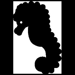 Basic Seahorse Sticker