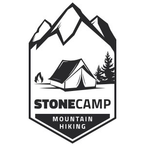 Stone Camp Camping Sticker