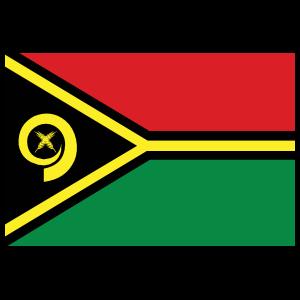 Vanuatu Country Flag Magnet
