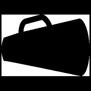 Simple Megaphone Sticker