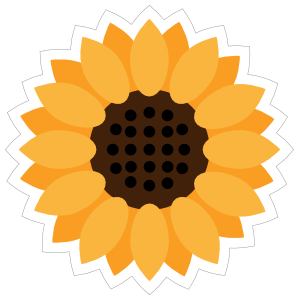 f6ff4bbe9 Full Sunflower Sticker