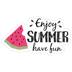 Enjoy Summer Have Fun Sticker