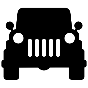 Jeep Silhouette Sticker