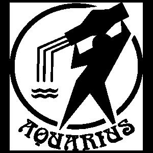Astrology - Aquarius Sticker