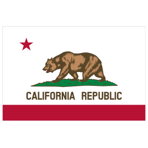 California Ca State Flag Magnet