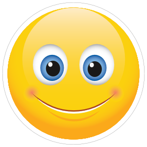 Cute Smile Emoji Sticker