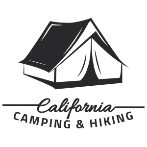 California Hiking Camping Stickers