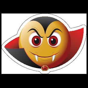 Cute Vampire Emoji Sticker
