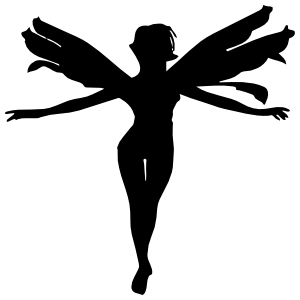 Graceful Fairy Sticker
