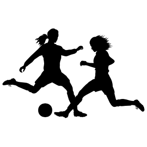 Unstoppable Soccer Player Sticker