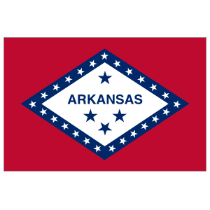 Arkansas Ar State Flag Magnet