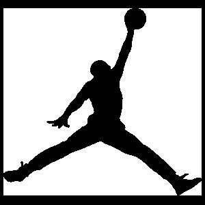 Basketball Player Dunking Ball Sticker