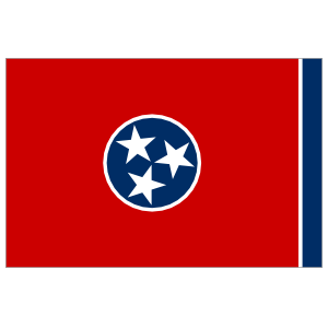 Tennessee Tn State Flag Magnet