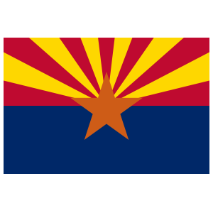 Arizona Az State Flag Magnet