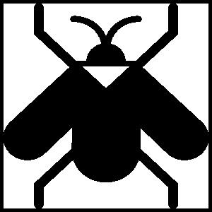 Triangle Fly Sticker