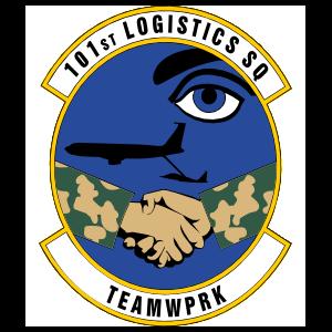 Air Force 101St Logistics Squadron Magnet