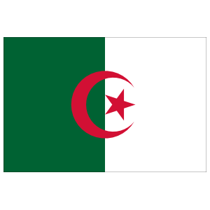 Algeria Country Flag Magnet