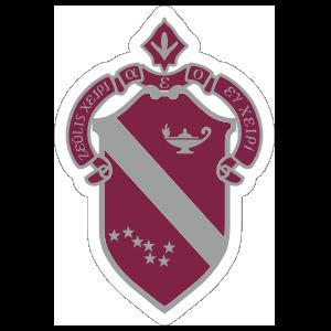Alpha Phi Crest Sticker