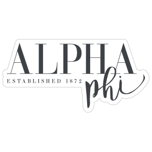 Alpha Phi Established Sticker