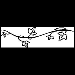 Alpha Phi Ivy Sticker
