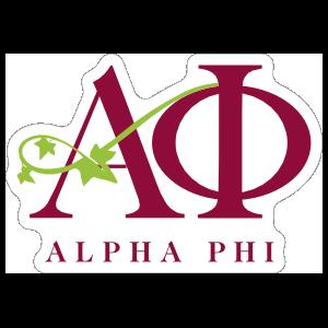 Alpha Phi Logo Sticker